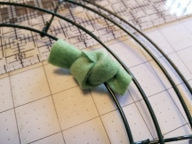 Half square knot